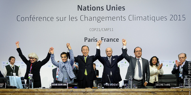 Climate change negotiations  