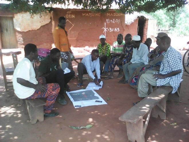 Village Demarcation: a precondition for establishing Cadastral Operations in Benin