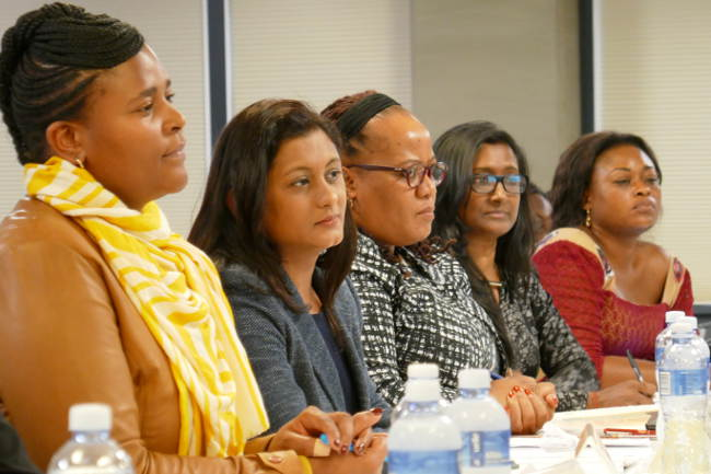 Groups and mediators trained in negotiation skills |