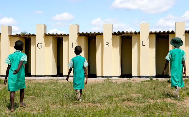 Access to sanitation for women and girls |