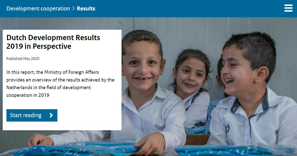 Inclusive Development Action Plan results
